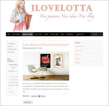 "Maison Alice im Lifestyle-Blog ""I love Lotta"""